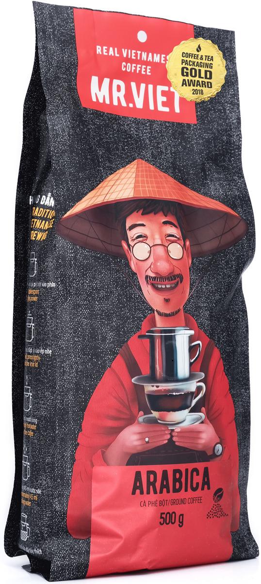Кофе молотый Sense Asia Mr. Viet Арабика, 500 г dai viet 250g