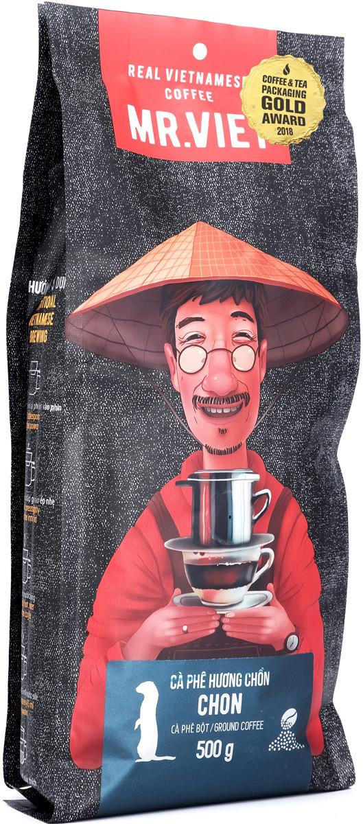 Кофе молотый Sense Asia Mr. Viet Чон, 500 г dai viet 250g
