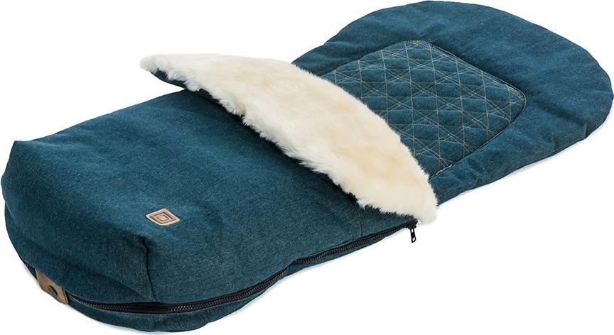 Накидка на ножки Moon Foot Muff Jeans (994) 2017, 65.000.033-994 сумка для коляски moon messenger bag jeans 994