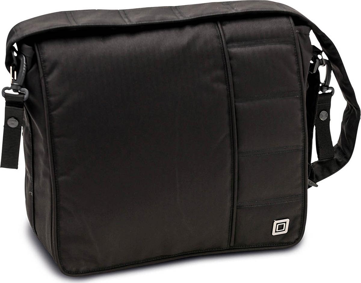 Сумка на коляску Moon Messenger Bag Black Fishbone (891) 2018, 65.000.042-891 сумка для коляски moon messenger bag jeans 994