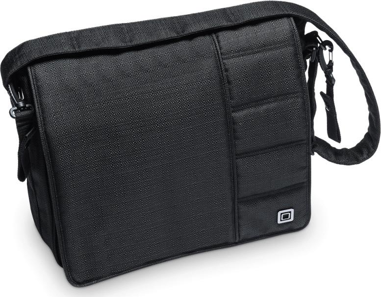 Сумка на коляску Moon Messenger Bag Black Structure (002) 2019, 68.000.042-002 сумка для коляски moon messenger bag jeans 994
