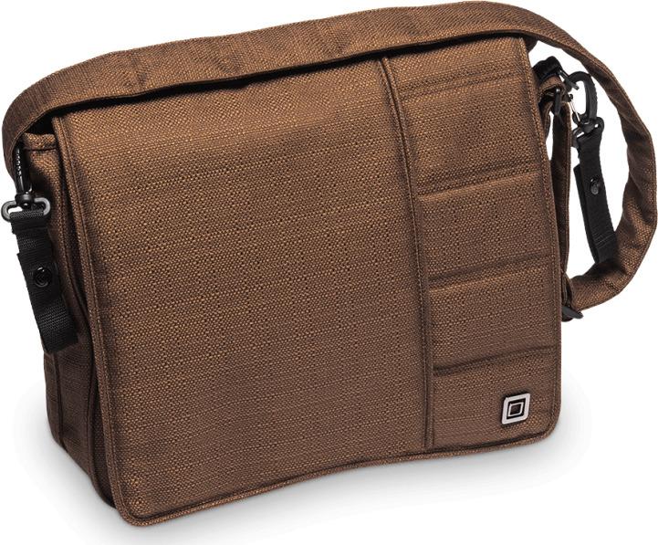 Сумка на коляску Moon Messenger Bag Chocolate Structure (005) 2019, 68.000.042-005 сумка для коляски moon messenger bag jeans 994