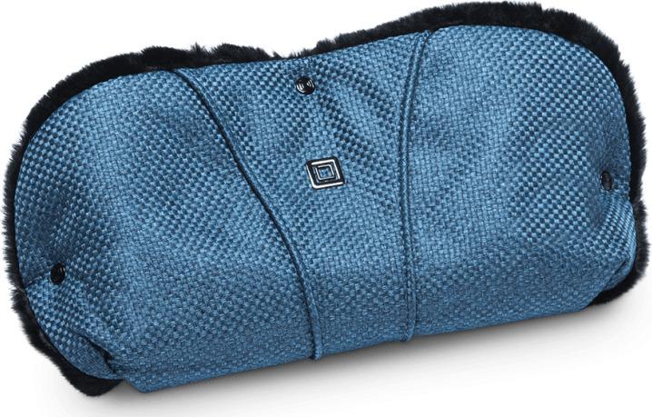 Муфта для рук Moon Hand Muff Blue Panama (803) 2019, 68.000.044-803 муфта для рук еду еду раздельная на коляску плащевая ткань натуральный мех синтепон зима красный