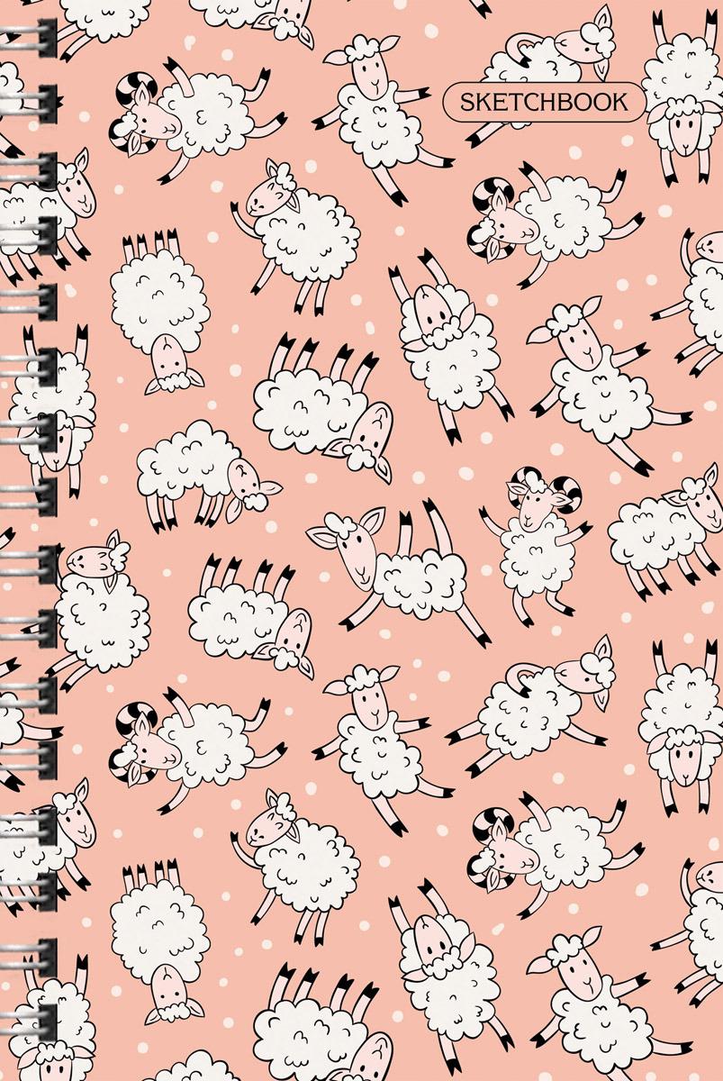 """Скетчбук Paper Art """"Овечки"""", ТС51004652, 100 листов"""