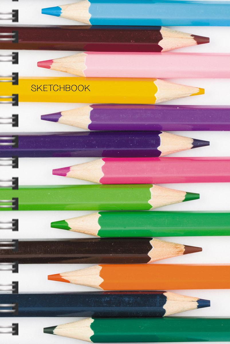 """Скетчбук Paper Art """"Любимая палитра"""", ТС51004654, 100 листов"""
