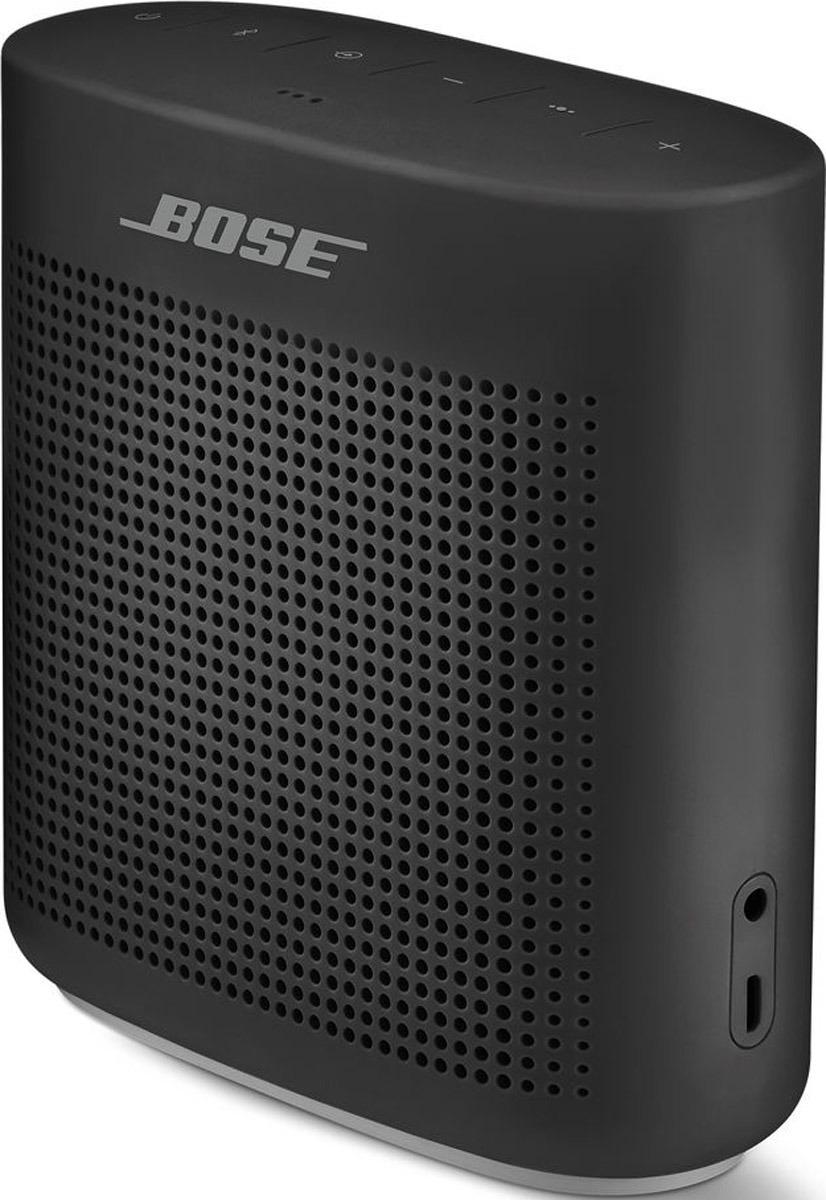 Портативная акустическая система Bose SoundLink Color II, 752195-0100, черный портативная акустическая система bose soundlink revolve plus 739617 2110 черный