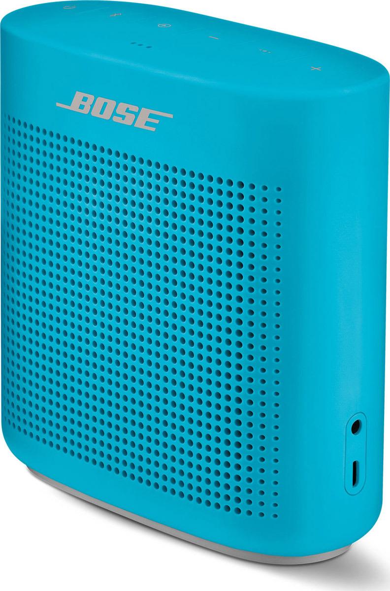 Портативная акустическая система Bose SoundLink Color II, 752195-0500, голубой портативная акустическая система bose soundlink revolve plus 739617 2110 черный