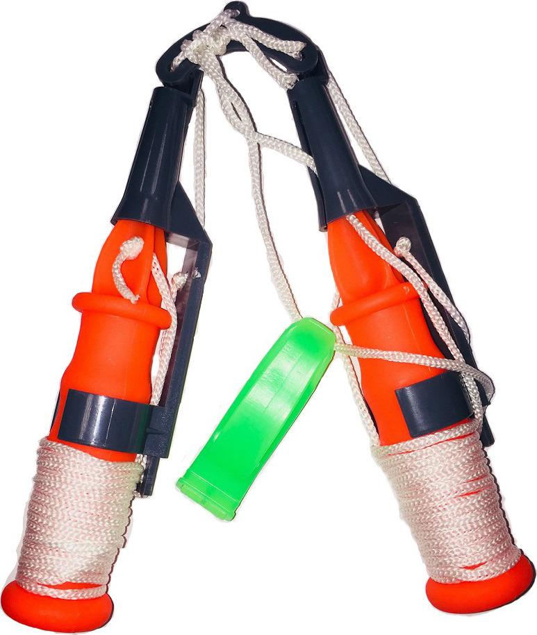 Шипы спасательные для зимней рыбалки AGP, УТ000030937, красный