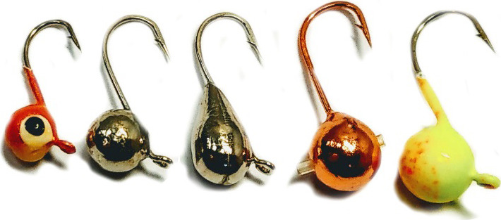 Мормышка вольфрамовая AGP Набор №8, УТ000031739, разноцветный
