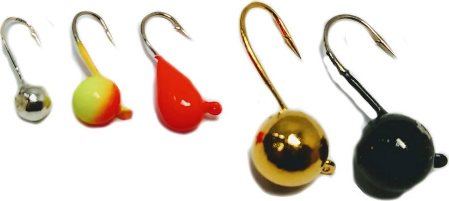 Мормышка вольфрамовая AGP Набор №9, УТ000031740, разноцветный блесна stinger phantom tt frc длина 38 мм вес 5 гр