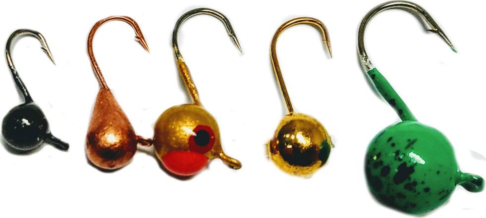 Мормышка вольфрамовая AGP Набор №14, УТ000031745, разноцветный, 5 шт