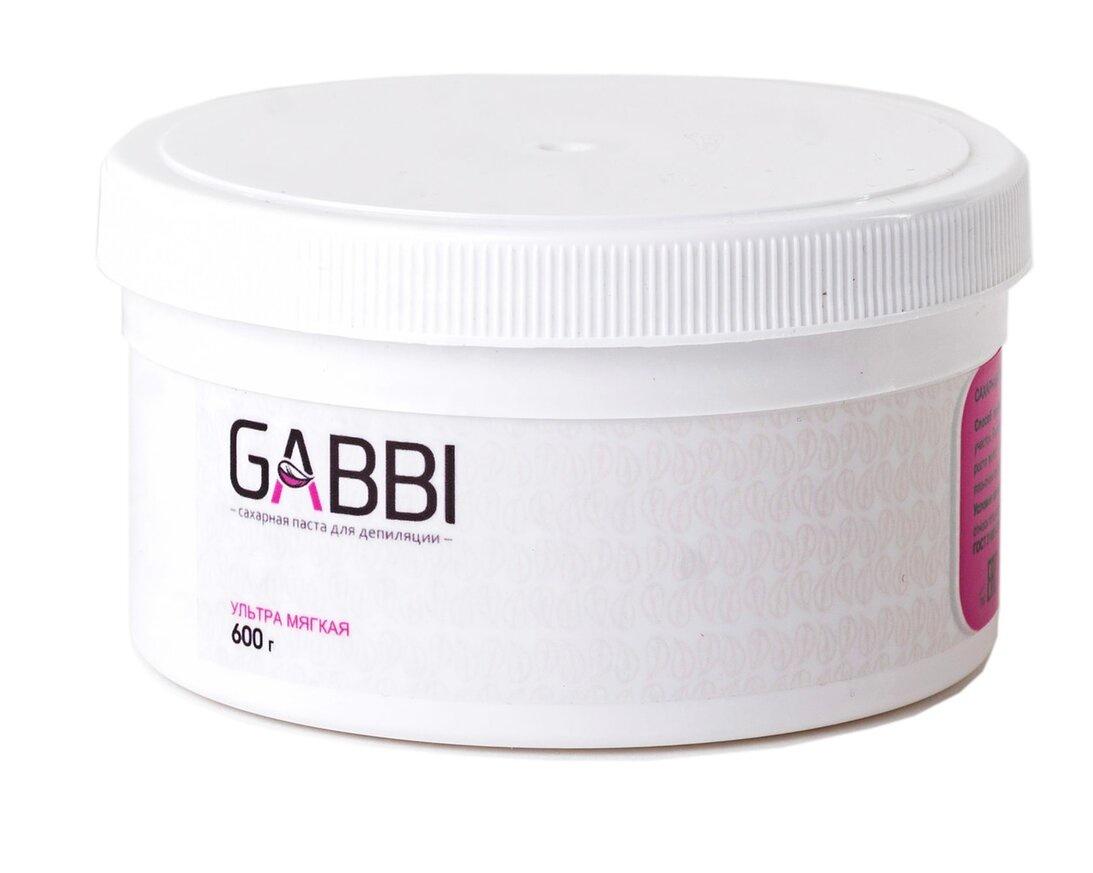 Сахарная паста для депиляции Gabbi ультра мягкая, 600 гр