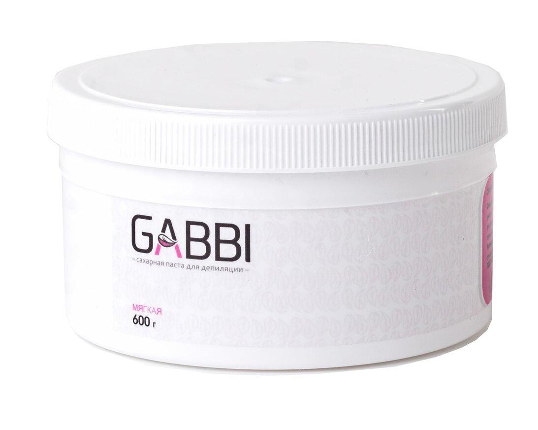 Сахарная паста для депиляции Gabbi, мягкая 600 гр