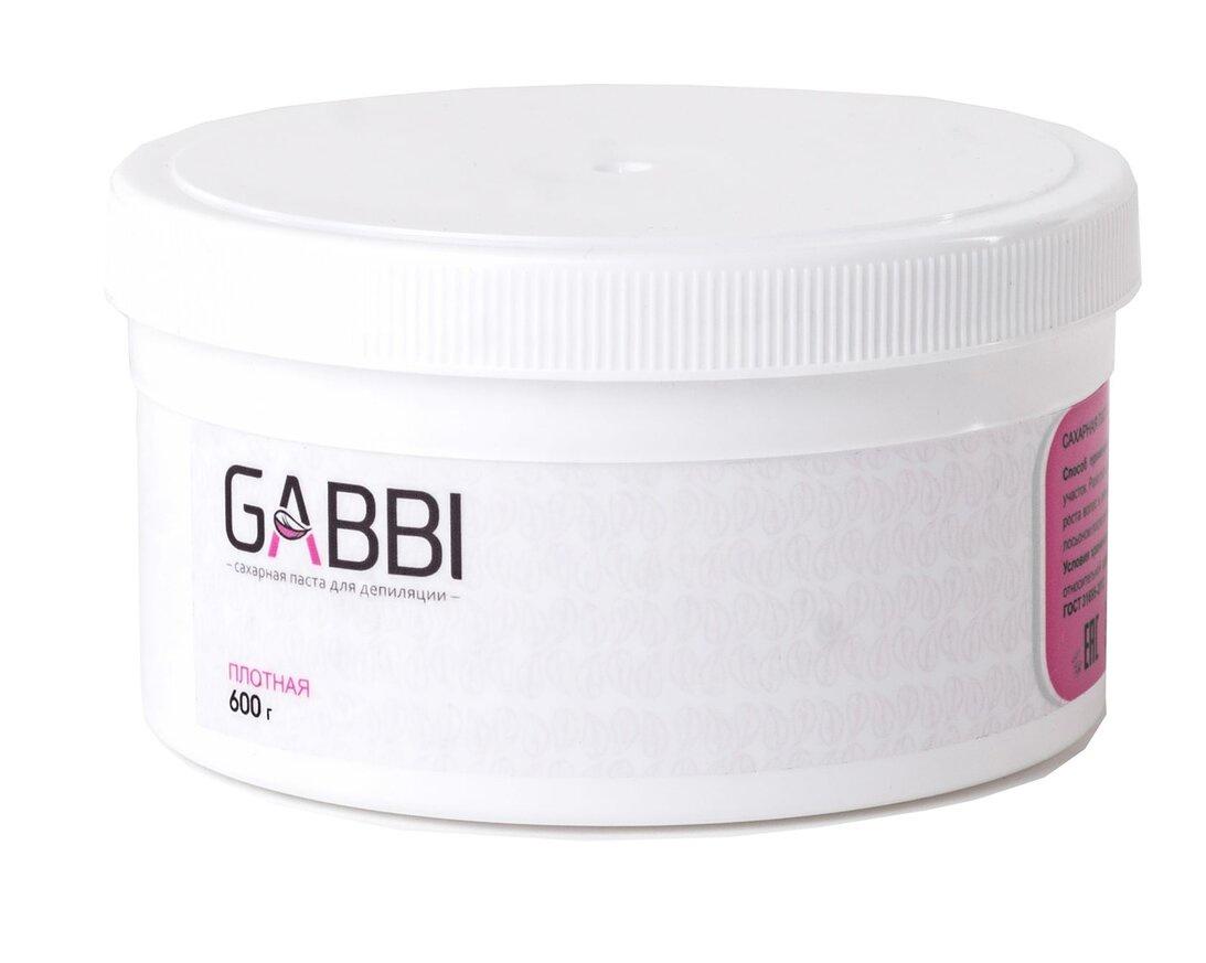 Сахарная паста для депиляции Gabbi плотная, 600 гр