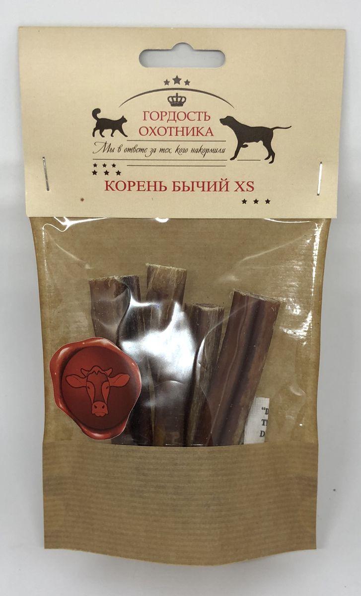 Лакомство Гордость охотника Корень бычий, для собак и хорьков, 4 шт, 65 г