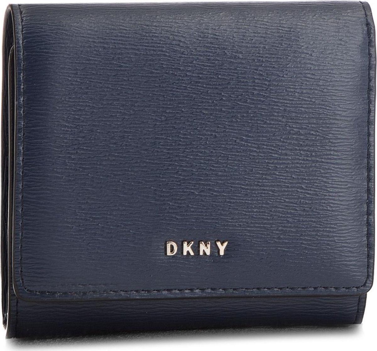 Кошелек женский DKNY, R7413100/NVY, темно-синий кошелек dkny dkny dk001bwzky71