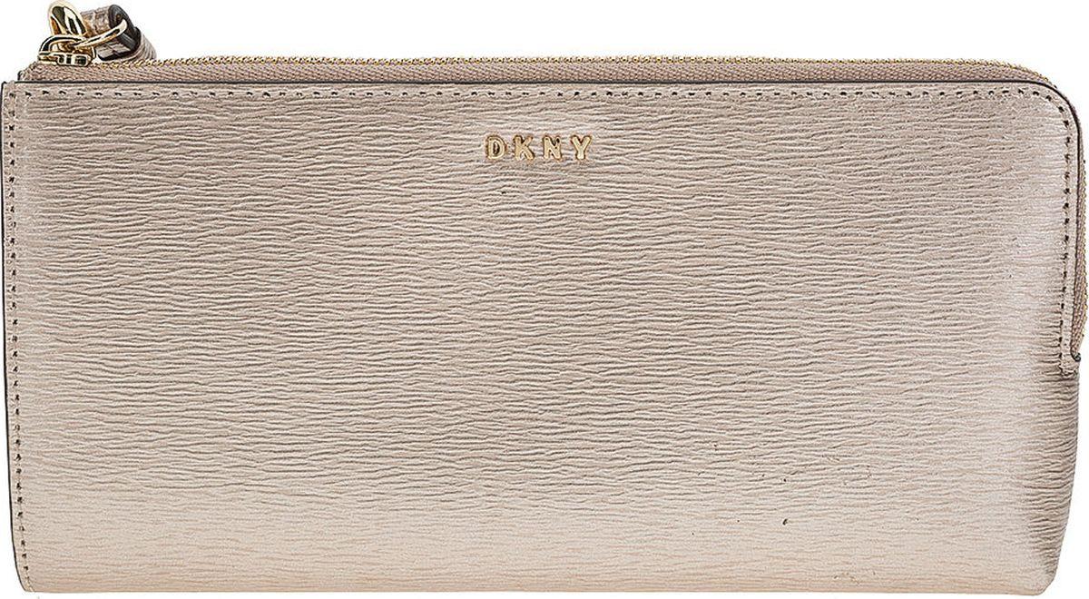 Кошелек DKNY кожаный кошелек женский
