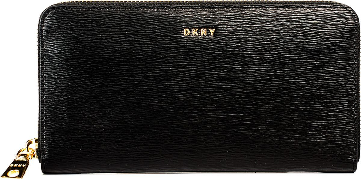 Кошелек женский DKNY, R74Q3103/001, черный кошелек dkny dkny dk001bwzky71