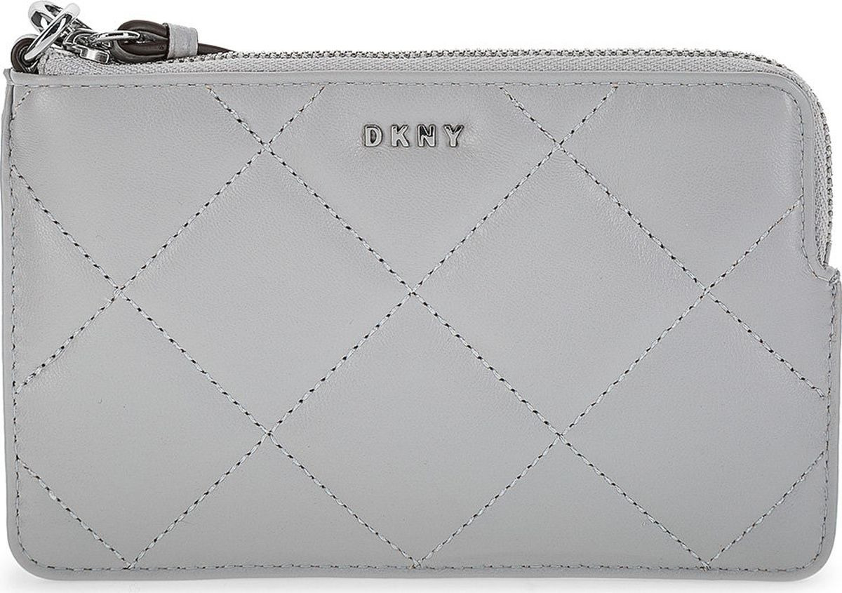 Кошелек женский DKNY, R81LB101/452, светло-серый кошелек dkny dkny dk001bwzky71