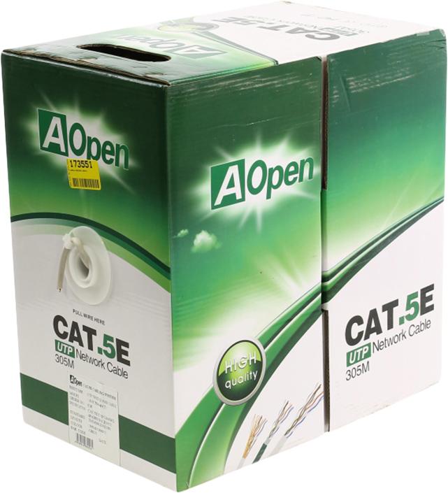 Кабель AOpen ANC504-40CU, 305 м кабель aopen anc514 40 aopen utp 4x2x0 4mm 305m