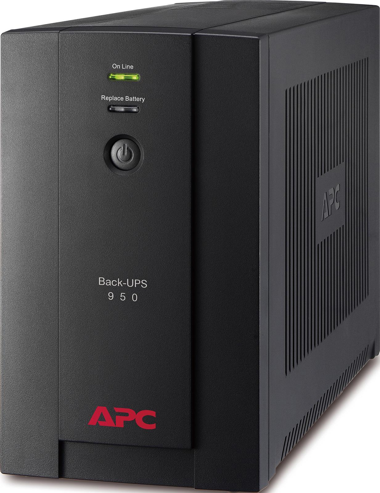ИБП APC BX950UI Back-UPS 950VA/480W (6 IEC) источник бесперебойного питания apc back ups 950va 230v avr iec sockets bx950ui