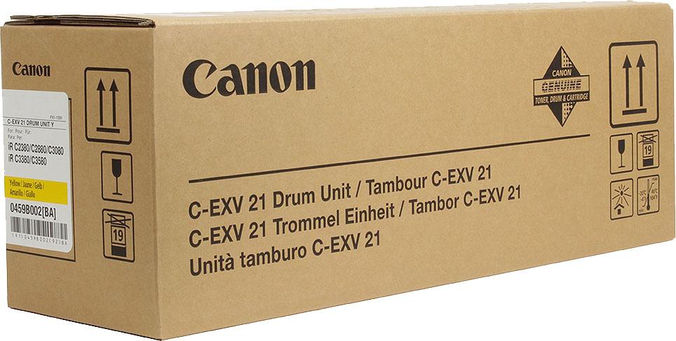 Фотобарабан Canon C-EXV21Y для IRC2880/3380. Желтый. 53000 страниц.