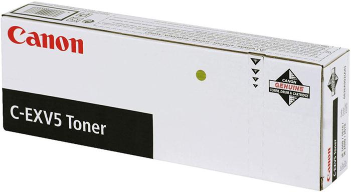 Картридж Canon C-EXV5, черный, для лазерного принтера, оригинал