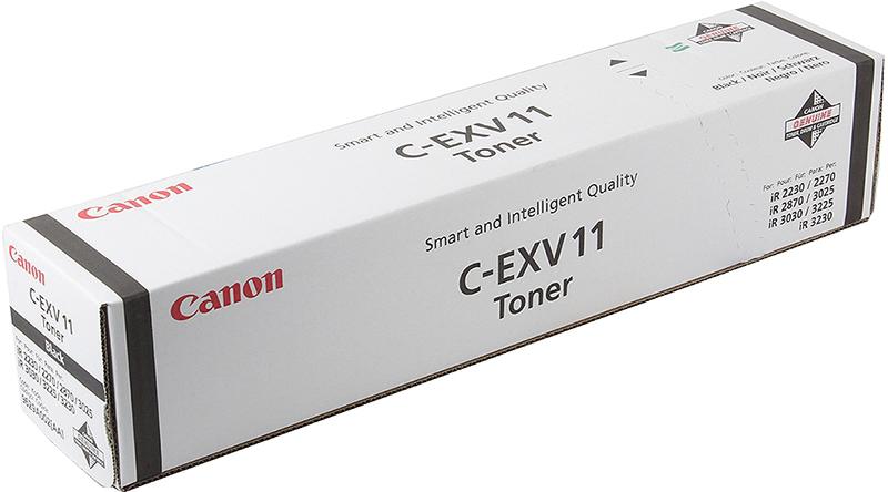 лучшая цена Картридж Canon C-EXV11, черный, для лазерного принтера, оригинал