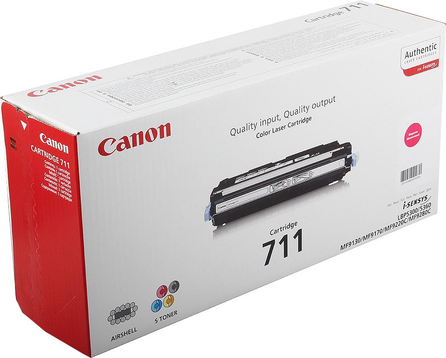 Картридж Canon 711M для принтеров Canon LBP5300. Пурпурный. 6000 страниц. canon