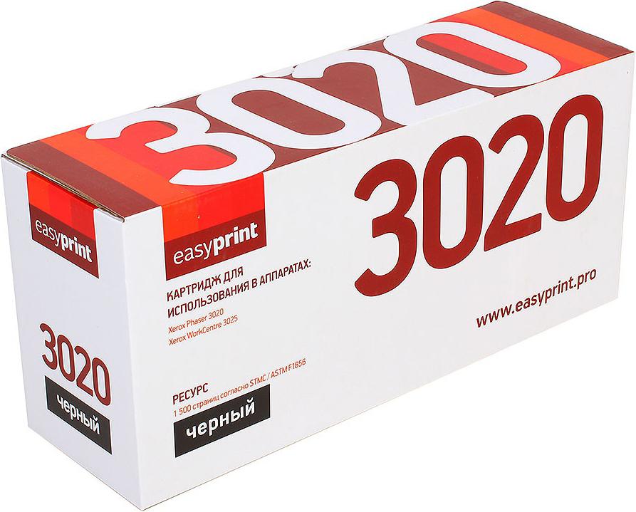 Картридж EasyPrint LX-3020 для Xerox Phaser 3020/WorkCentre 3025. Черный. 1500 страниц. с чипом (106R02773)