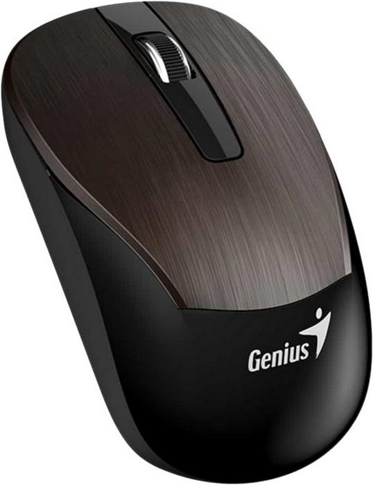 Мышь Genius ECO-8015, chocolate мышь беспроводная genius eco 8015 chocolate шоколадный usb радиоканал
