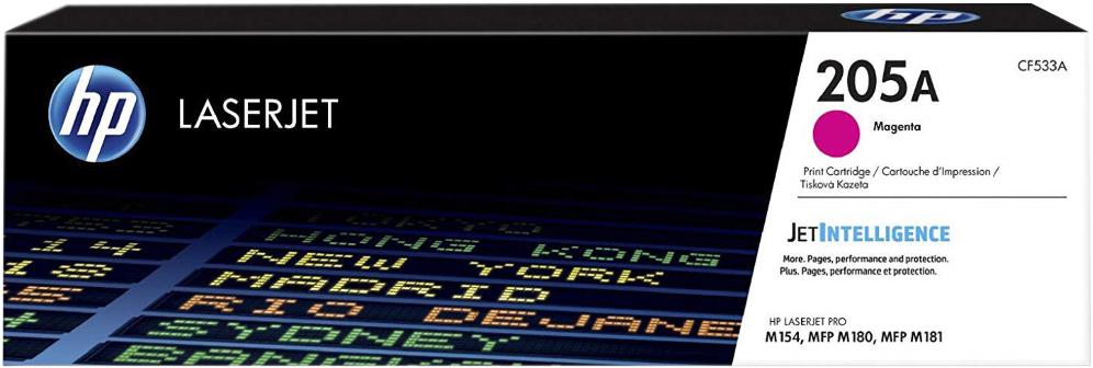 Картридж HP CF533A (HP 205A) для HP LaserJet M180/M181. Пурпурный. 900 страниц. hp hp 132