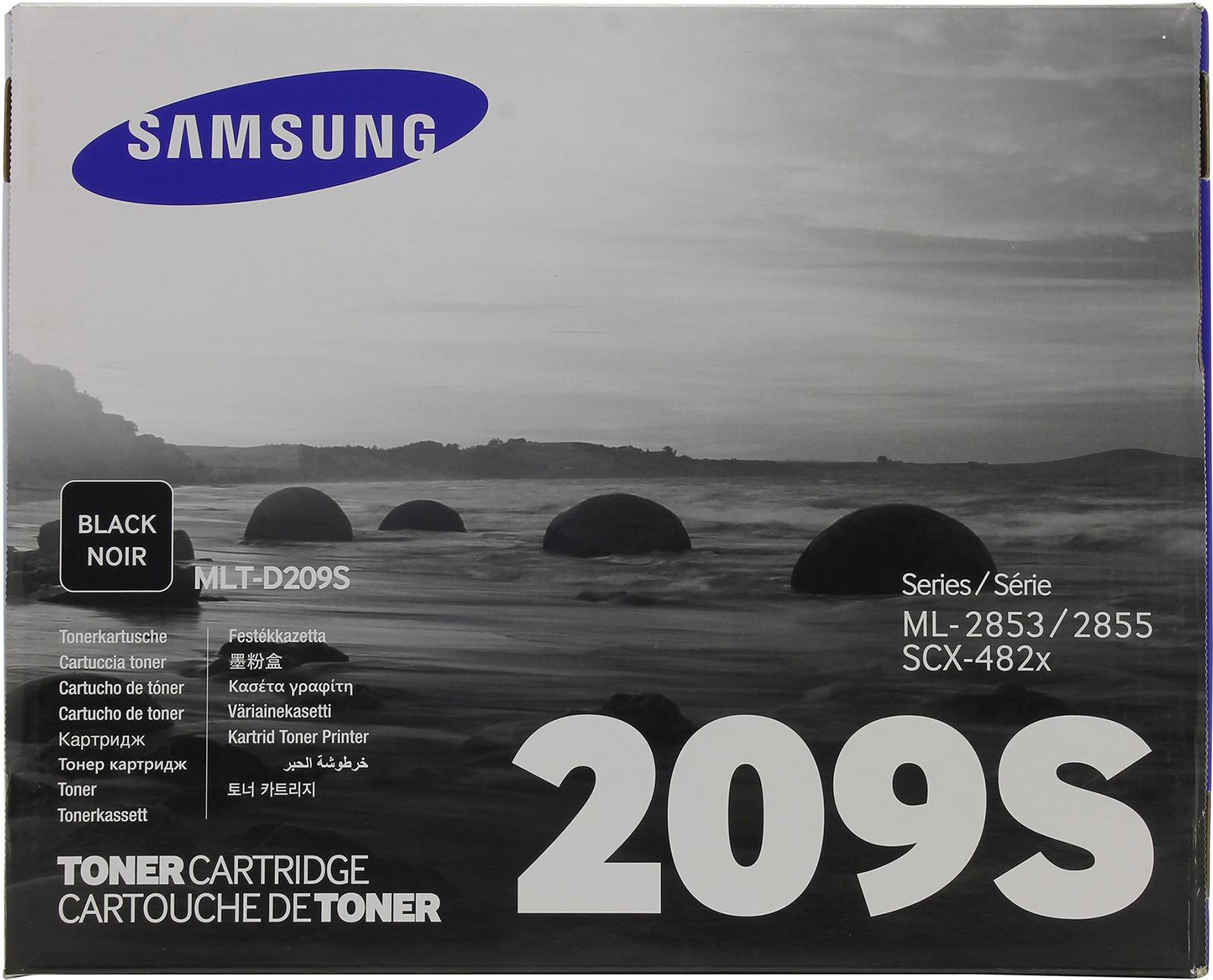 Картридж Samsung MLT-D209S, черный, для лазерного принтера, оригинал