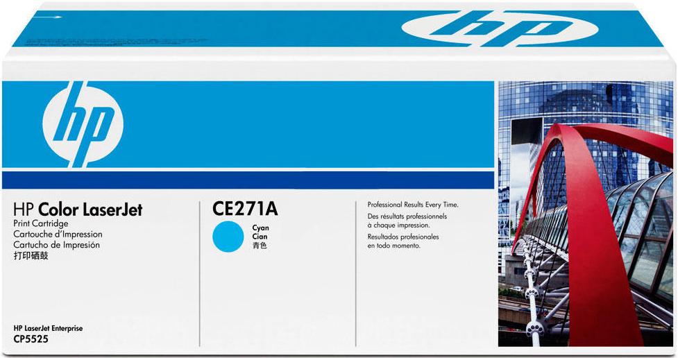 Картридж HP 650A, голубой, для лазерного принтера, оригинал цена