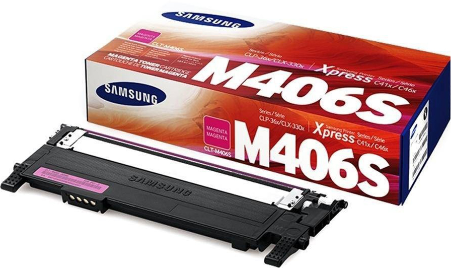 все цены на Картридж Samsung (HP) CLT-M406S для CLP-360/365/CLX-3300/3305. Пурпурный. 1000 страниц. онлайн