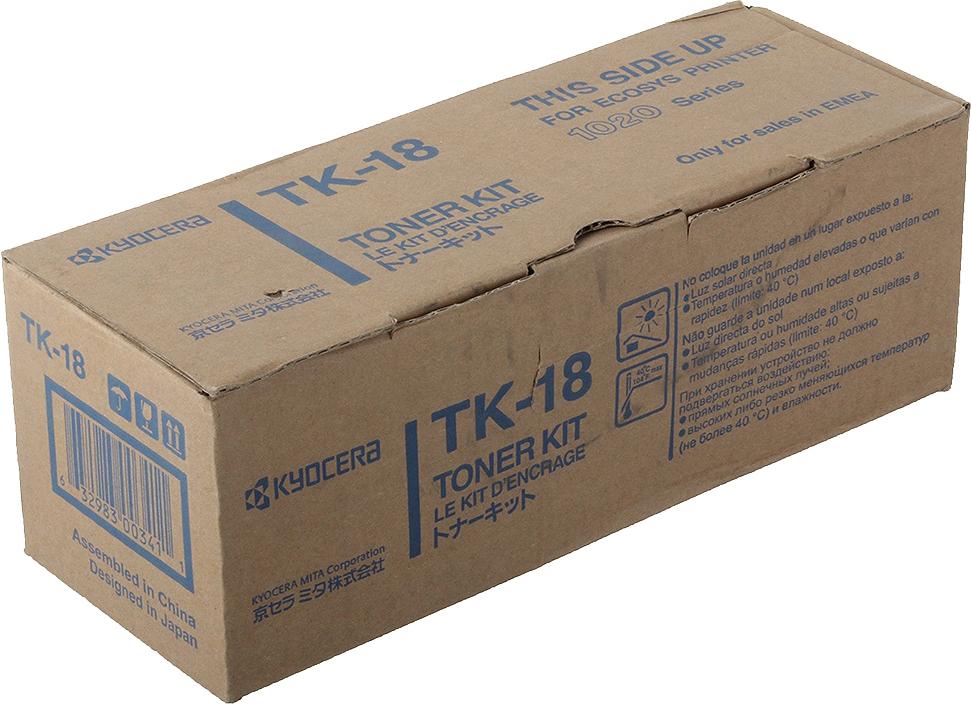 цены Картридж Kyocera TK-18, черный, для лазерного принтера