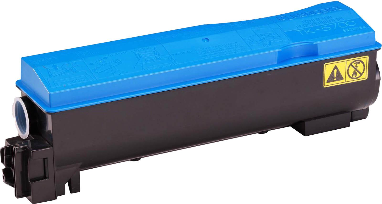 Картридж Kyocera TK-570C, голубой, для лазерного принтера