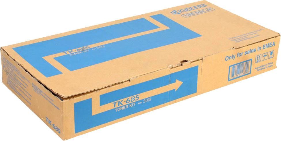 Картридж Kyocera TK-685, черный, для лазерного принтера цена