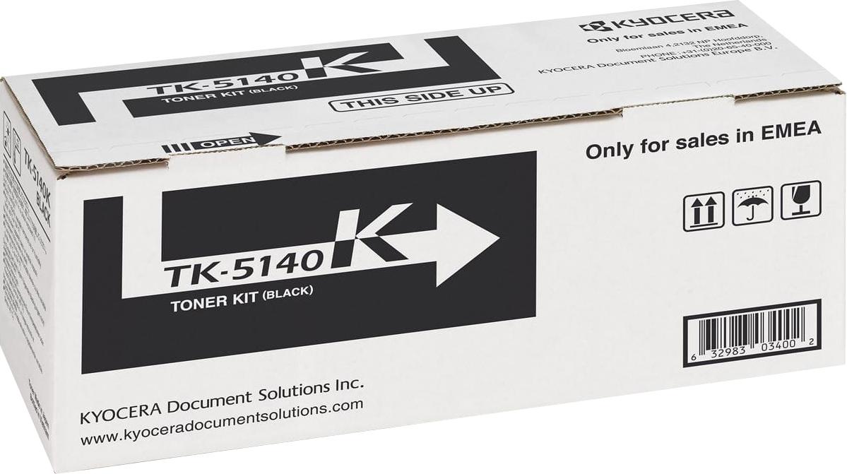 Картридж Kyocera TK-5140K, черный, для лазерного принтера цена