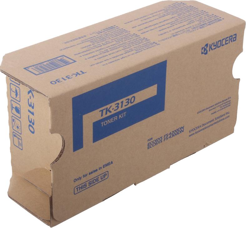 Картридж Kyocera TK-3130, черный, для лазерного принтера