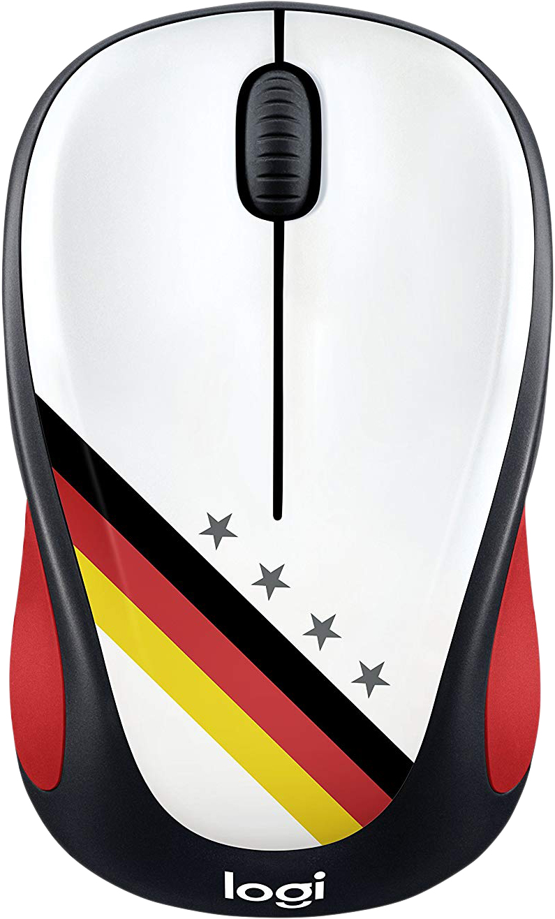 Мышь Logitech M238 Fan Collection Germany, 910-005403 цена