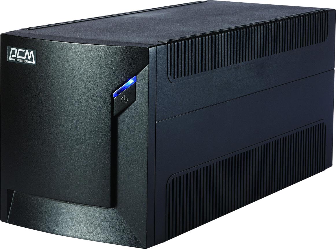 ИБП Powercom RPT-1025AP Raptor 1025VA/615W USB,AVR,RJ11,RJ45 (6 IEC) ибп powercom rpt 1000ap raptor 1000va 600w avr usb 3 iec