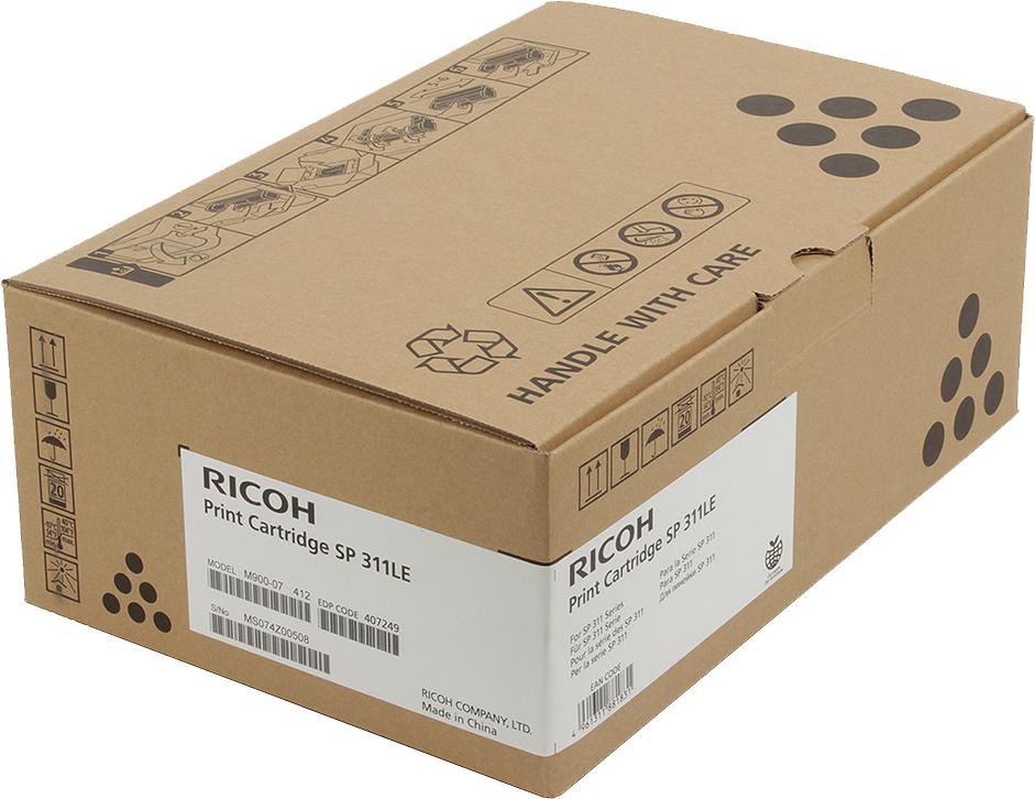 Картридж Ricoh SP 311LE, черный, для лазерного принтера ricoh sp 311dn