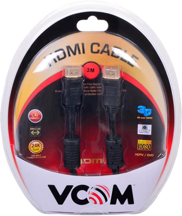 Кабель VCOM HDMI 19M/M ver:1.4-3D, VHD6020D-3MB, 3 м цена