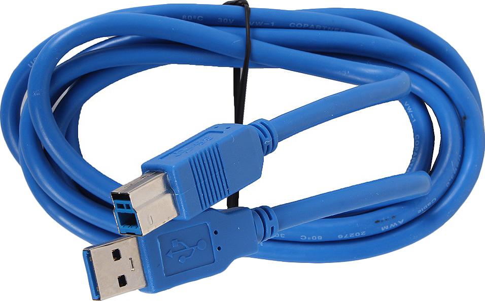 Кабель соединительный VCOM USB3.0 Am/Bm, VUS7070-1.8M, 1,8 м