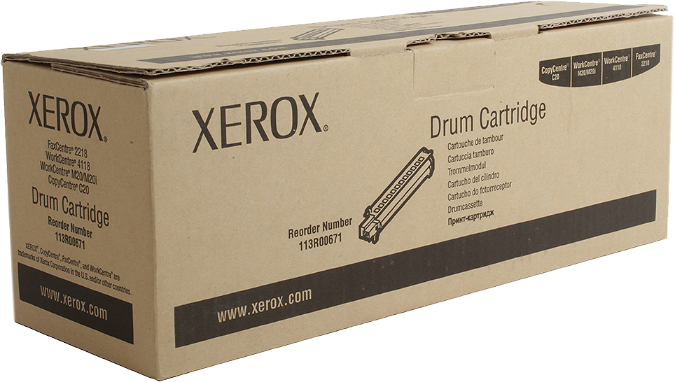 Картридж Xerox 113R00671, черный, для лазерного принтера, оригинал