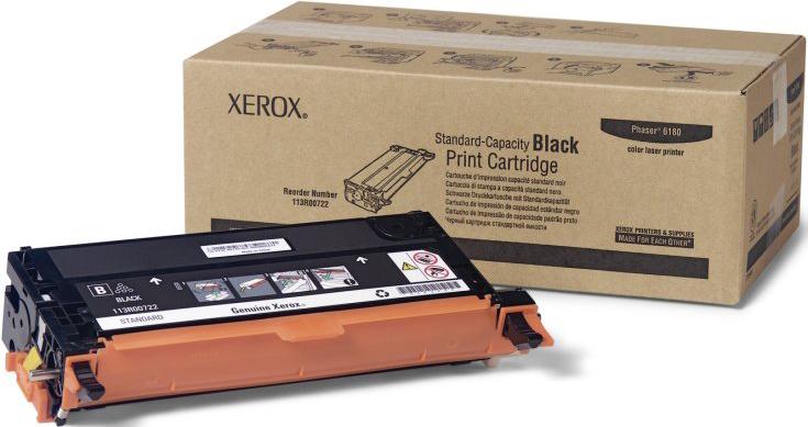 Картридж Xerox 113R00726, черный, для лазерного принтера, оригинал картридж xerox 013r00621 черный оригинал