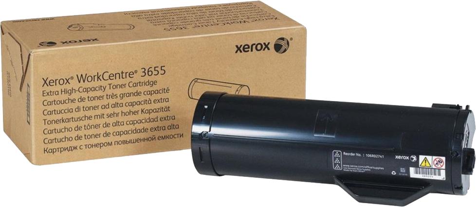 Картридж Xerox 106R02741, черный, для лазерного принтера