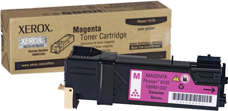 Картридж Xerox 106R01336, пурпурный, для лазерного принтера, оригинал