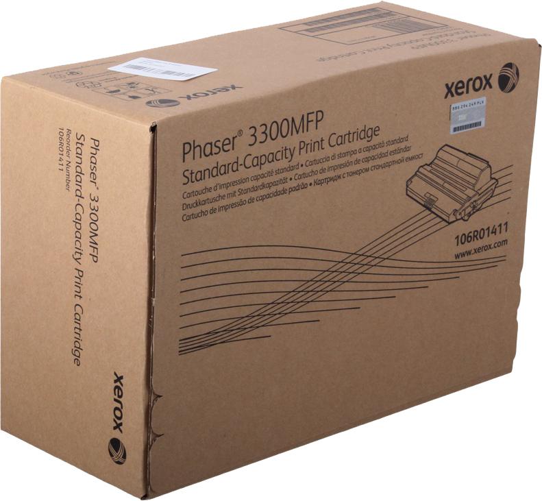 Картридж Xerox 106R01411 для Phaser 3300 MFP/X. Черный. 4000 страниц. картридж xerox 106r01411 для phaser 3300 mfp x черный 4000 страниц